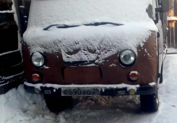 запуск двигателя зимой