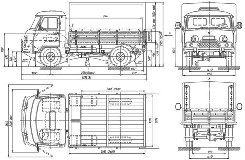 схема уаз 3303