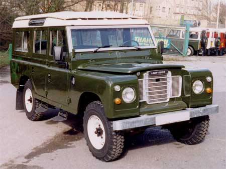 вот он Land Rover Series III