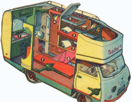 дом на колесах уаз