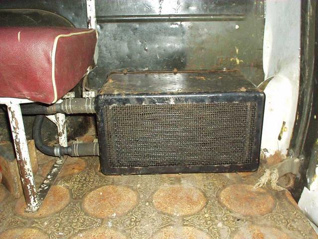 Печка на авто своими руками