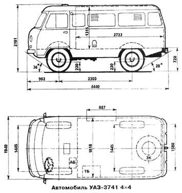 схема Уаз 3741