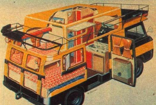 планировка уаза для дома на колесах