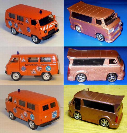 моделька УАЗ-39625